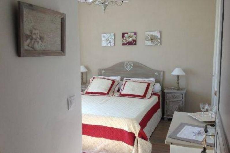 Location de vacances - Chambre d'hôtes à Camélas - Chambre Romantique