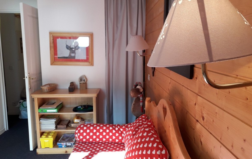 Location de vacances - Appartement à Station de Risoul 1850 - Salon