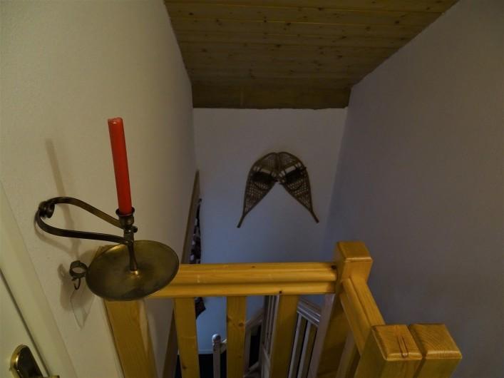 Location de vacances - Appartement à Station de Risoul 1850 - Escalier