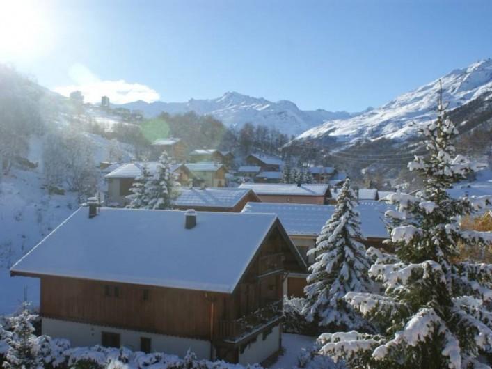 Location de vacances - Appartement à Saint-Martin-de-Belleville - Vue du balcon