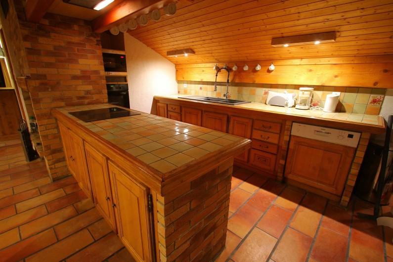 Location de vacances - Appartement à Saint-Martin-de-Belleville - Cuisine