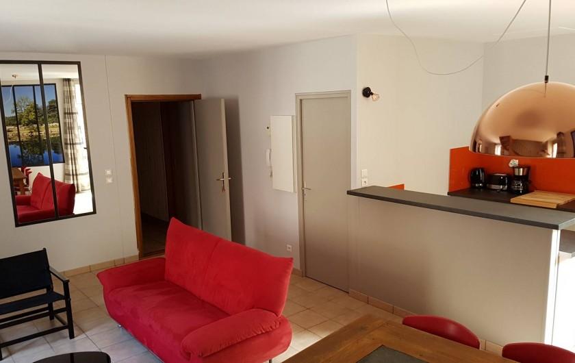 Location de vacances - Appartement à Villefranche-de-Rouergue - Cuisine équipée
