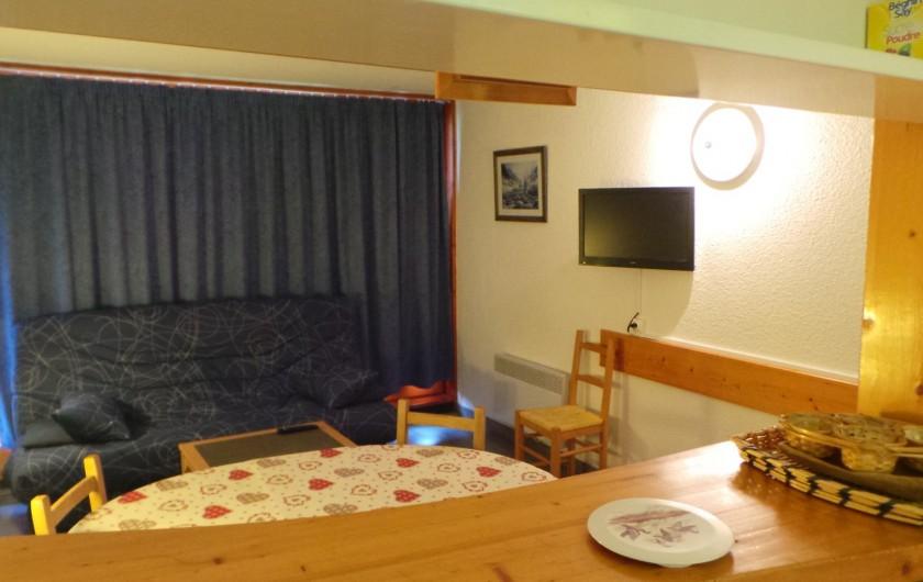 Location de vacances - Appartement à Arc 1800 - VUE DU BAR