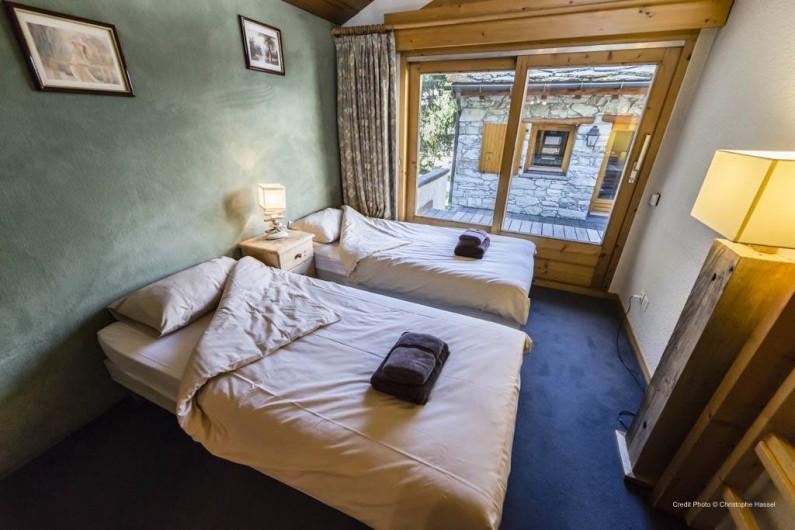 Location de vacances - Chalet à Val-d'Isère - Chambre 3
