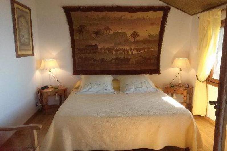 Location de vacances - Villa à Erbalunga - Chambre 1