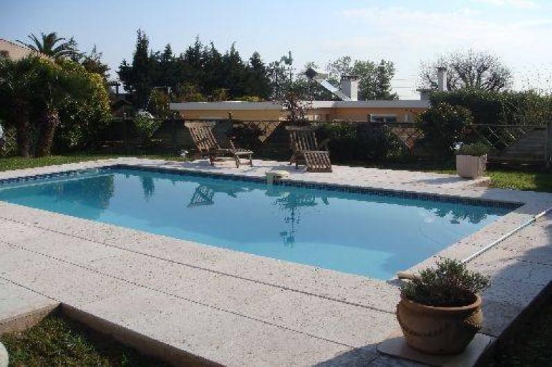 Location de vacances - Villa à Antibes - la piscine rien que pour vous