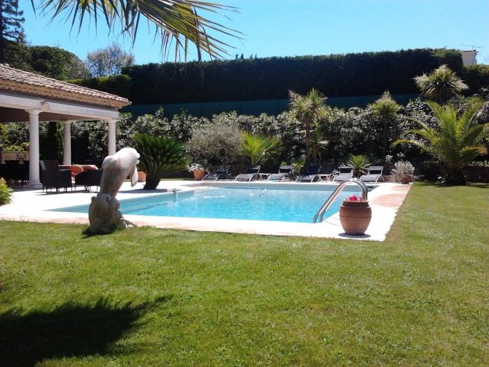 Location de vacances - Villa à Mougins - piscine villa