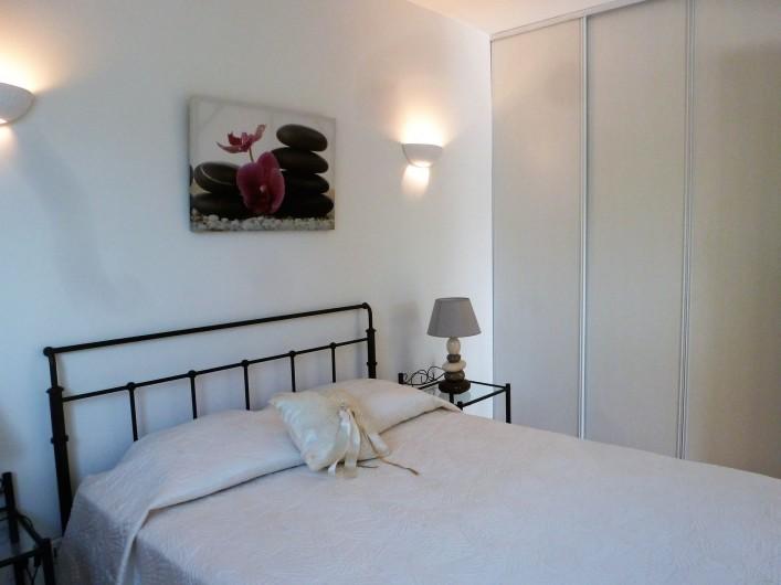 Location de vacances - Villa à Mougins - REZ DE JARDIN VILLA CHAMBRE 2