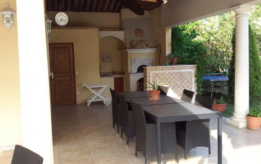 Location de vacances - Villa à Mougins - POOL HOUSE