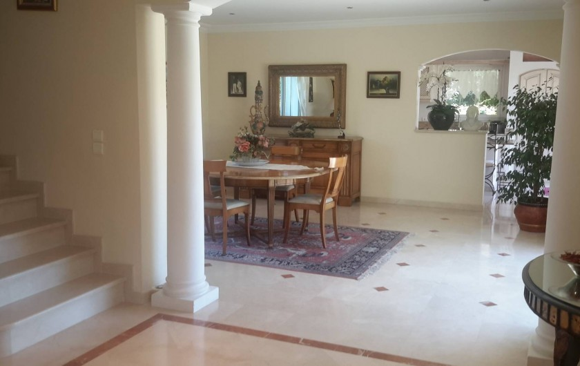 Location de vacances - Villa à Mougins - SALLE A MANGER
