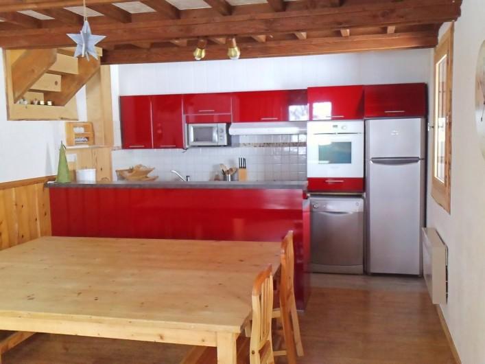 Location de vacances - Chalet à La Joue du Loup - cuisine américaine