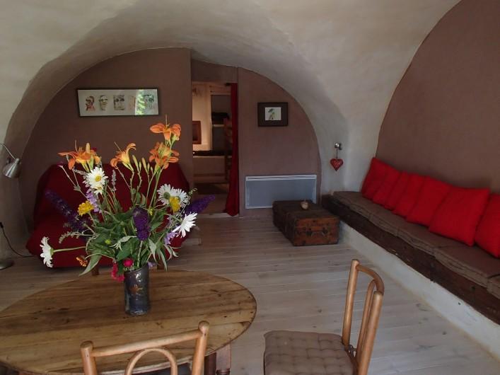 Location de vacances - Gîte à Chorges - Séjour, avec accès ouvert.