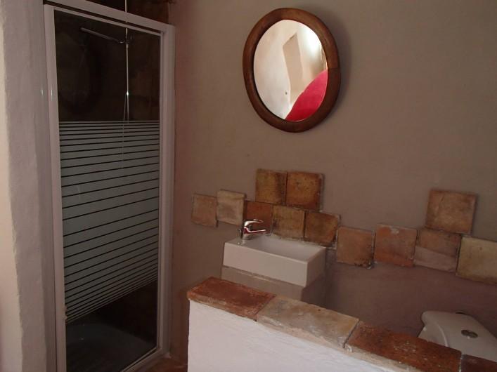 Location de vacances - Gîte à Chorges - chambre autonome (en suppléement) douche