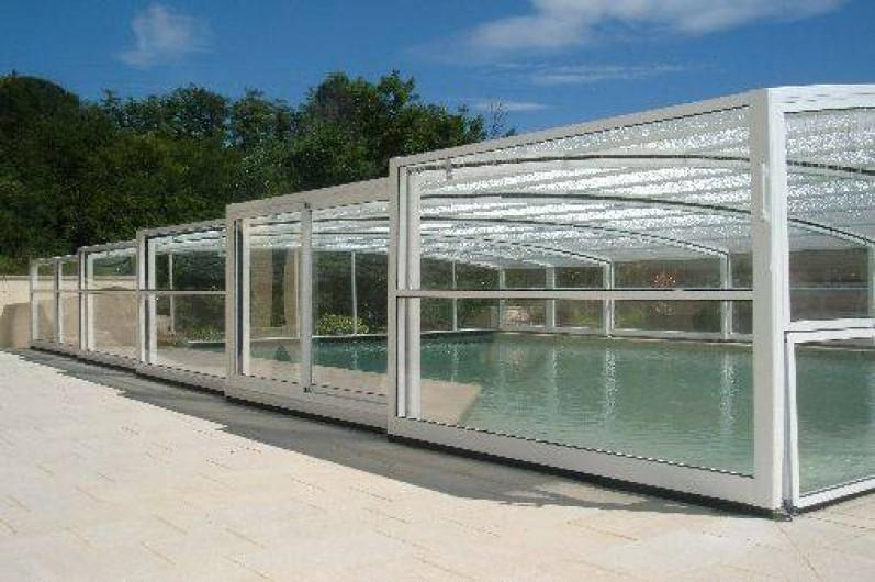 Location de vacances - Gîte à Saint-Romain-en-Viennois - Piscine couverte