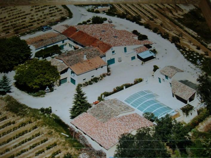 Location de vacances - Gîte à Saint-Romain-en-Viennois - Vue du ciel