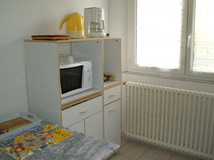 Location de vacances - Gîte à Saint-Romain-en-Viennois - Coin cuisine Gite 4
