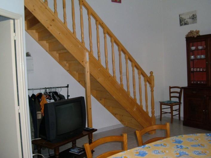 Location de vacances - Gîte à Saint-Romain-en-Viennois - Coin séjour Gite 4