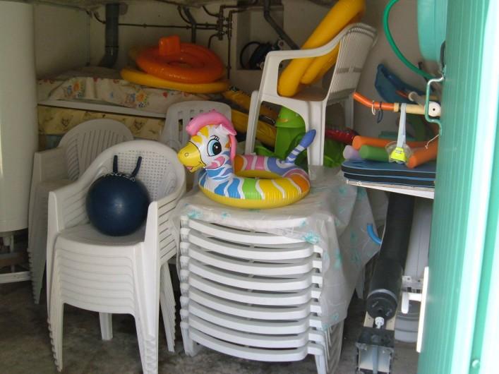 Location de vacances - Gîte à Saint-Romain-en-Viennois - Matériel piscine mis à disposition