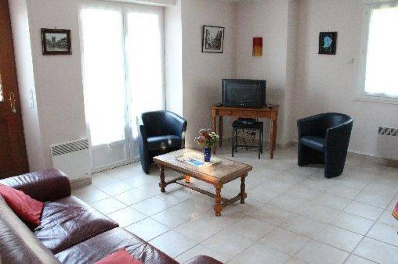 Location de vacances - Gîte à Bénodet - Le salon
