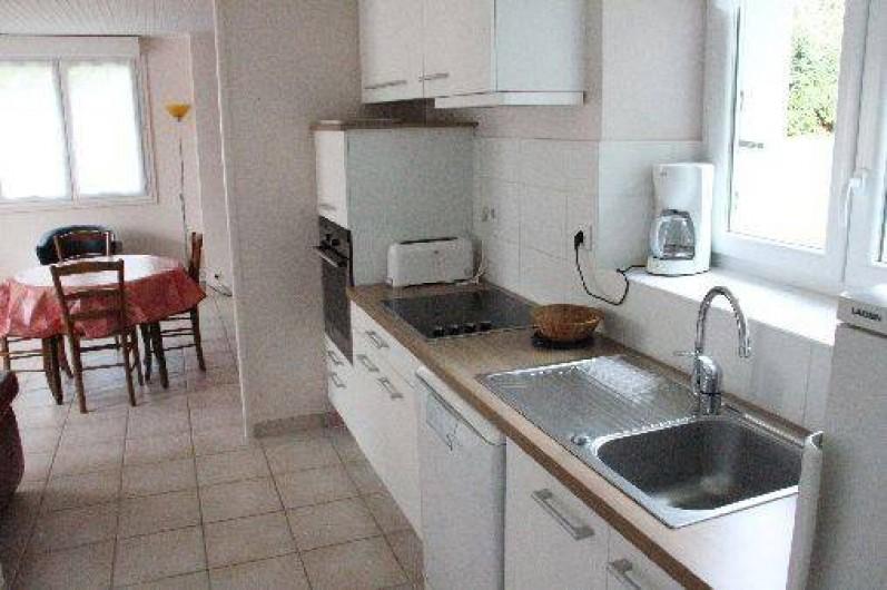 Location de vacances - Gîte à Bénodet - La cuisine