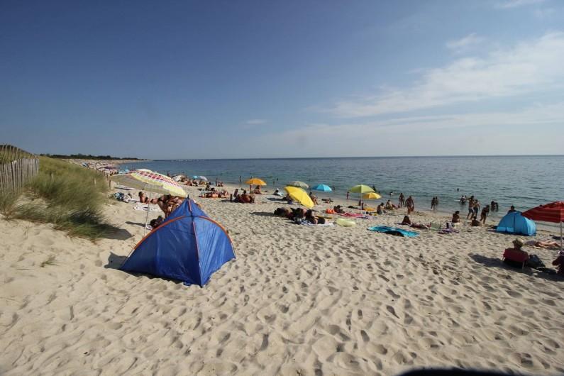 Location de vacances - Gîte à Bénodet - La plage de Kerler à 4 km de nos locations