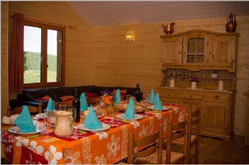 Location de vacances - Gîte à Le Pont-de-Montvert - Salon 1