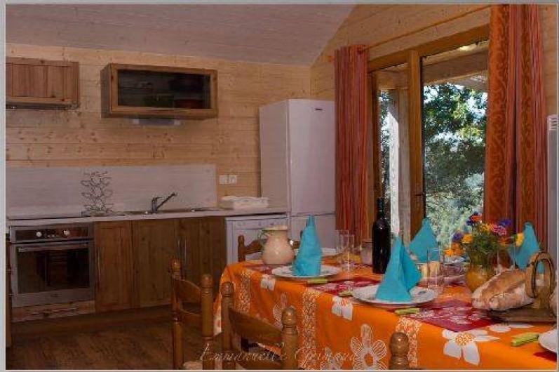 Location de vacances - Gîte à Le Pont-de-Montvert - Cuisine