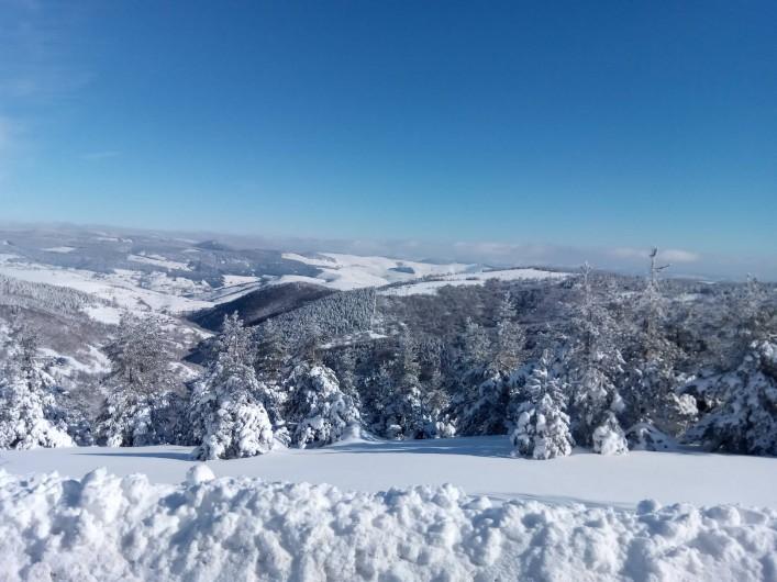 Location de vacances - Gîte à Le Pont-de-Montvert - Neige hiver