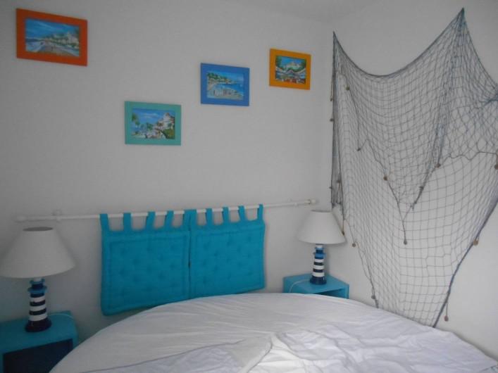Location de vacances - Appartement à La Barre-de-Monts - Chambre séparée et fermée