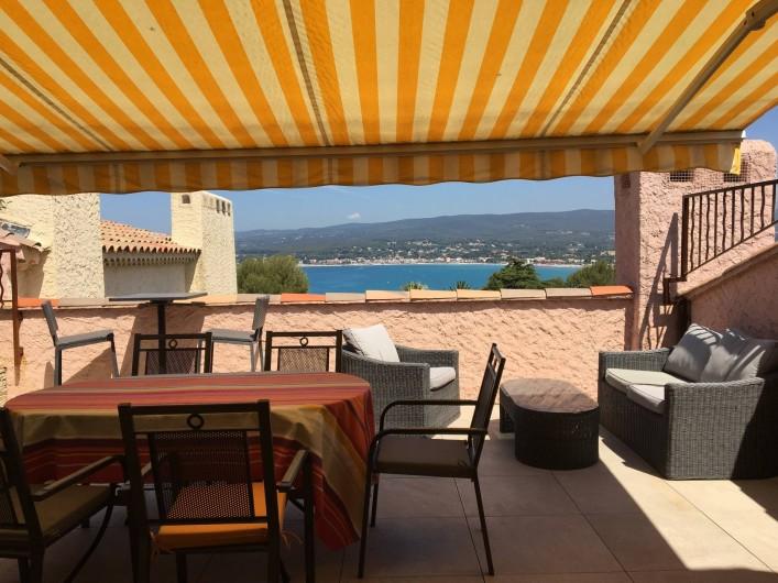 Location de vacances - Appartement à Saint-Cyr-sur-Mer