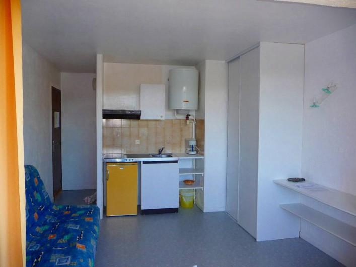 Location de vacances - Studio à Cavalaire-sur-Mer - Coin cuisine