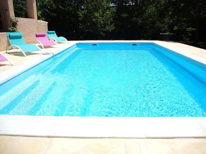 Location de vacances - Villa à Salernes - Piscine