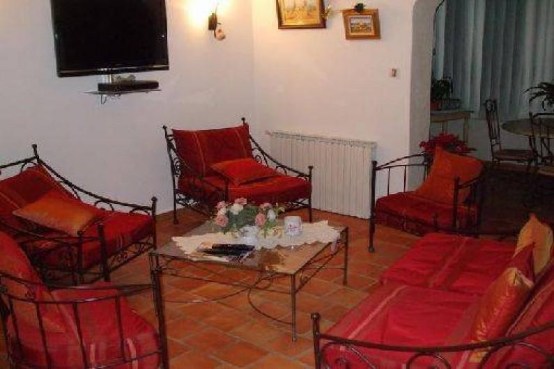 Location de vacances - Villa à La Bastide-des-Jourdans