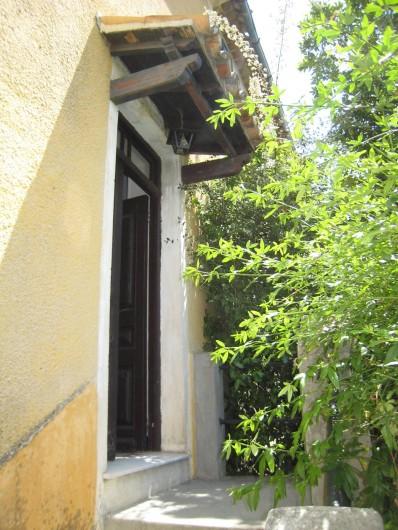 Location de vacances - Maison - Villa à Berre-les-Alpes - Auvent