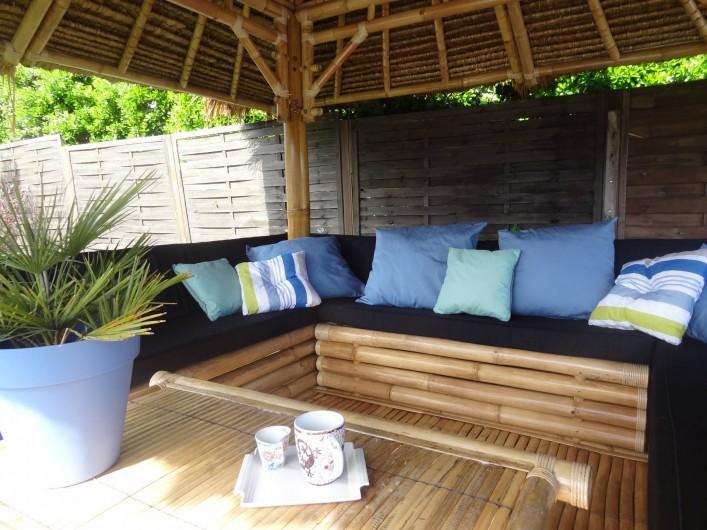 Location de vacances - Villa à Labenne - Gazébo balinais