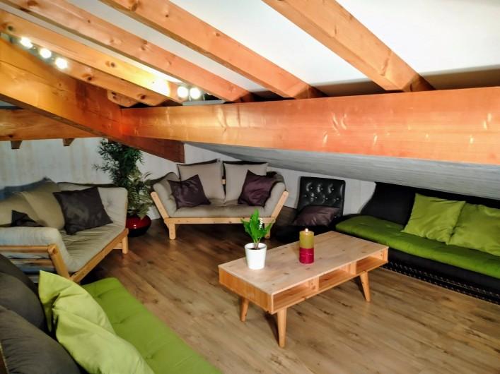 Location de vacances - Villa à Labenne - Coin TV