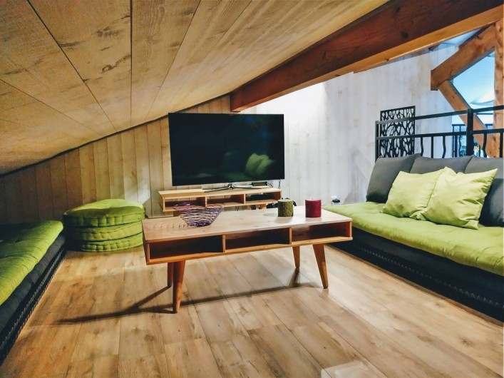 Location de vacances - Villa à Labenne - Coin TV Grand écran