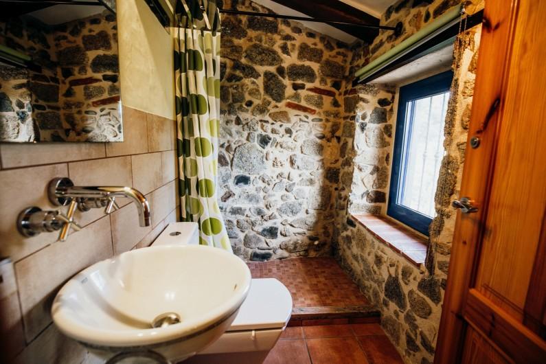 Location de vacances - Mas à Alforja - Bambú wc