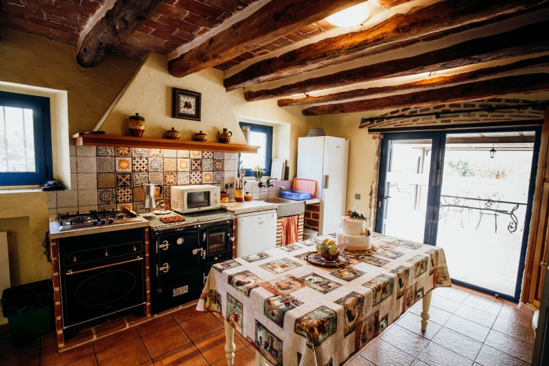 Location de vacances - Mas à Alforja - cuisine