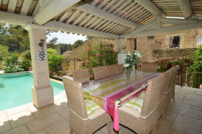 Location de vacances - Mas à Orgon - pool house