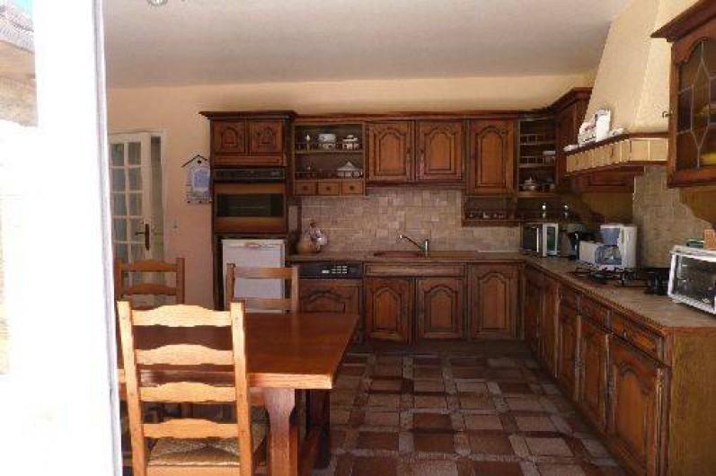 Location de vacances - Maison - Villa à Névez - cuisine