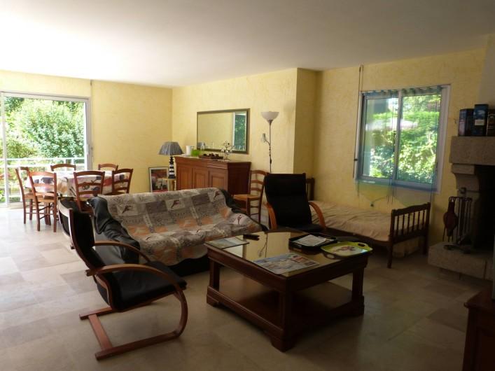 Location de vacances - Maison - Villa à Névez - salon  et salle à manger