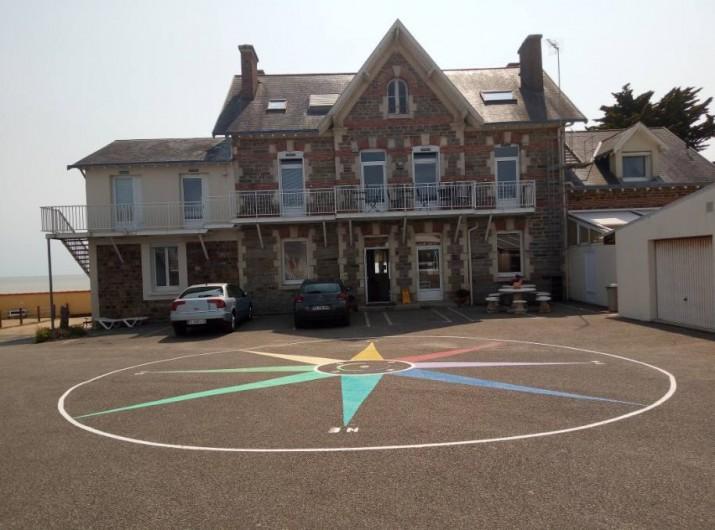 Location de vacances - Appartement à La Bernerie-en-Retz - Bâtiment principal vue extérieur