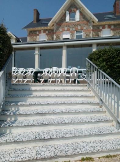 Location de vacances - Appartement à La Bernerie-en-Retz - Terrasse côté mer