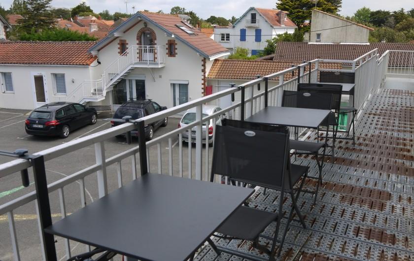 Location de vacances - Appartement à La Bernerie-en-Retz - Terrasse sur coursive