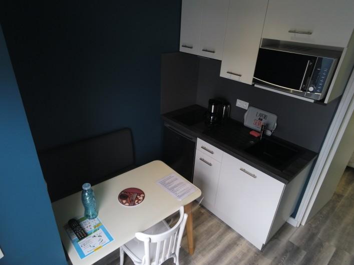 Location de vacances - Appartement à La Bernerie-en-Retz - Cuisine aménagée
