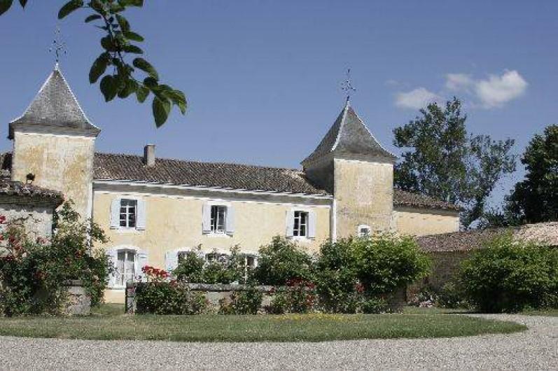 Location de vacances - Château - Manoir à Aillas