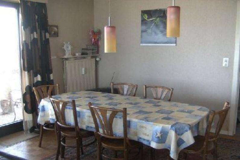 Location de vacances - Appartement à Ostende - Salle à manger (table avec ralonge)