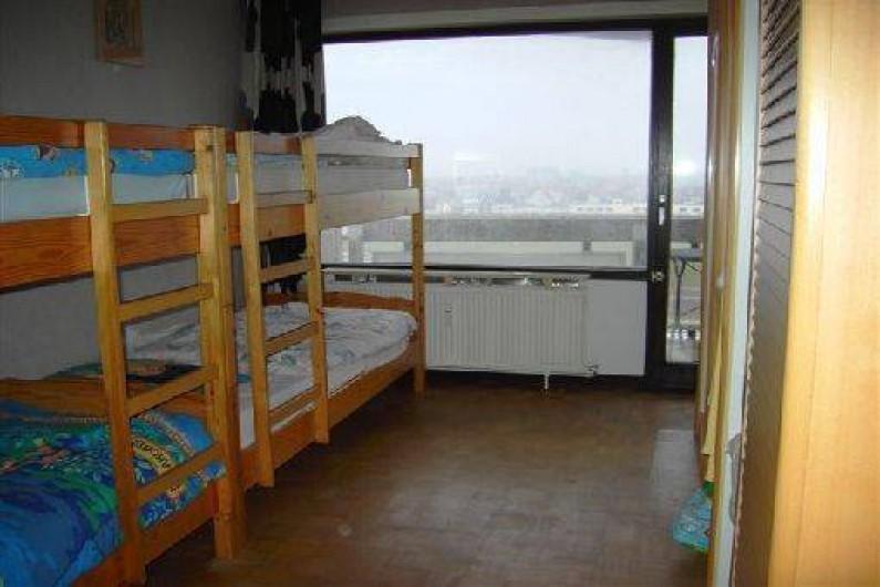 Location de vacances - Appartement à Ostende - Chambre à coucher (parquet masssif) avec 3ième terrasse
