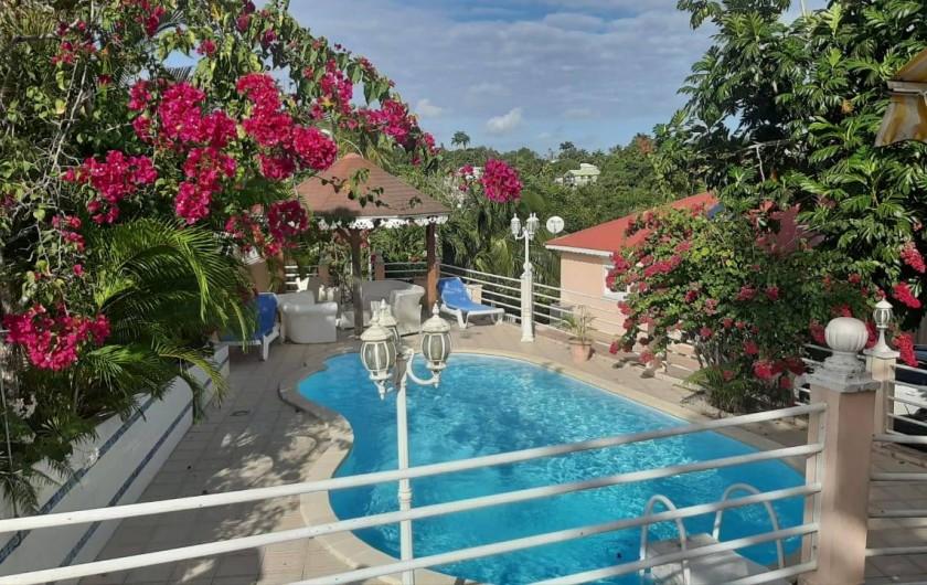 Location de vacances - Appartement à Sainte-Anne - PISCINE